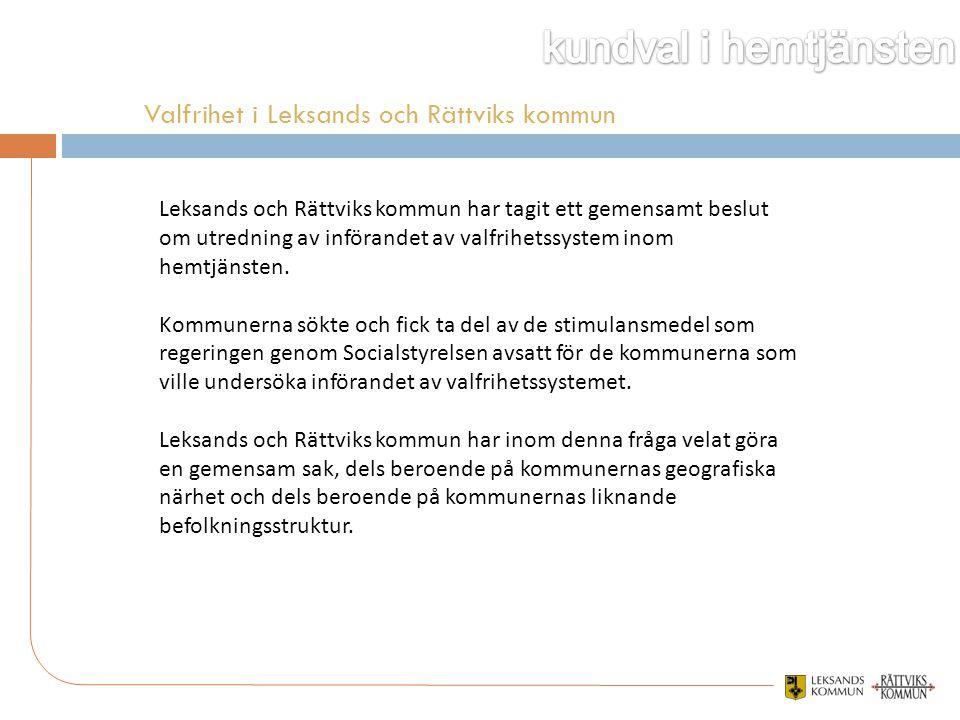 Valfrihet i Leksands och Rättviks kommun