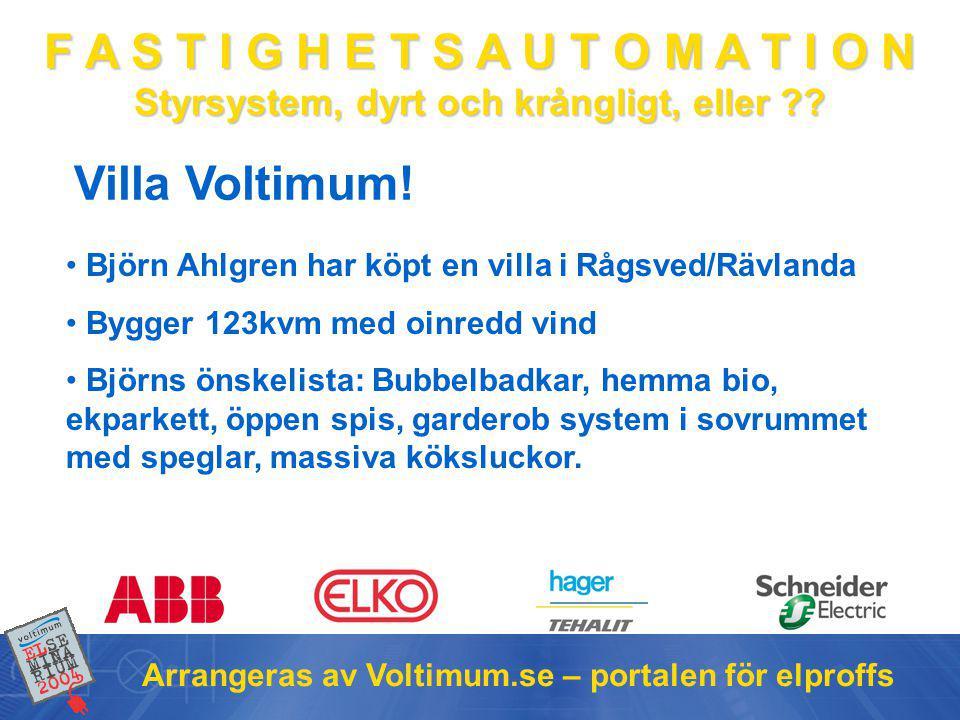Villa Voltimum! Björn Ahlgren har köpt en villa i Rågsved/Rävlanda