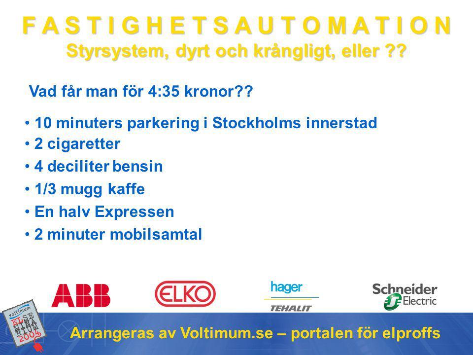 Vad får man för 4:35 kronor 10 minuters parkering i Stockholms innerstad. 2 cigaretter. 4 deciliter bensin.