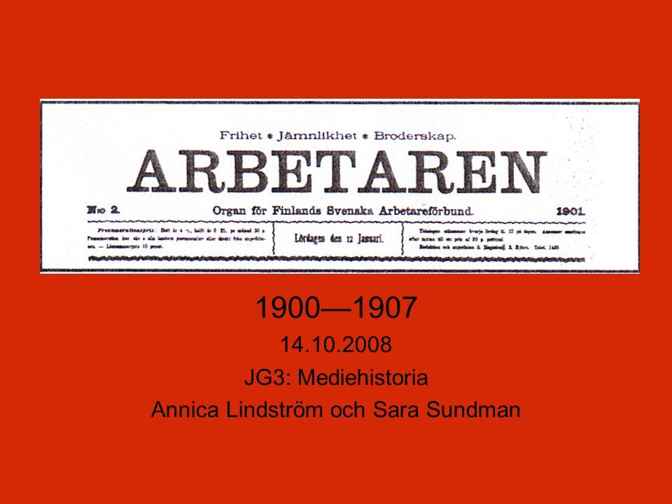Annica Lindström och Sara Sundman