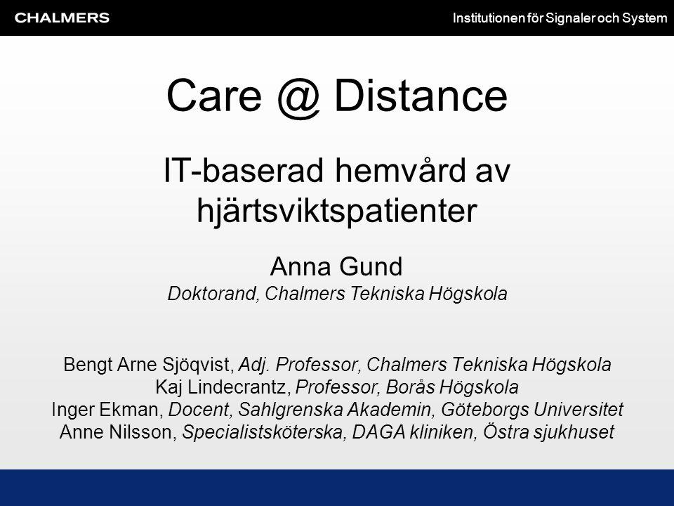 IT-baserad hemvård av hjärtsviktspatienter