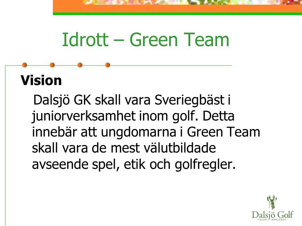 Idrott – Green Team Vision