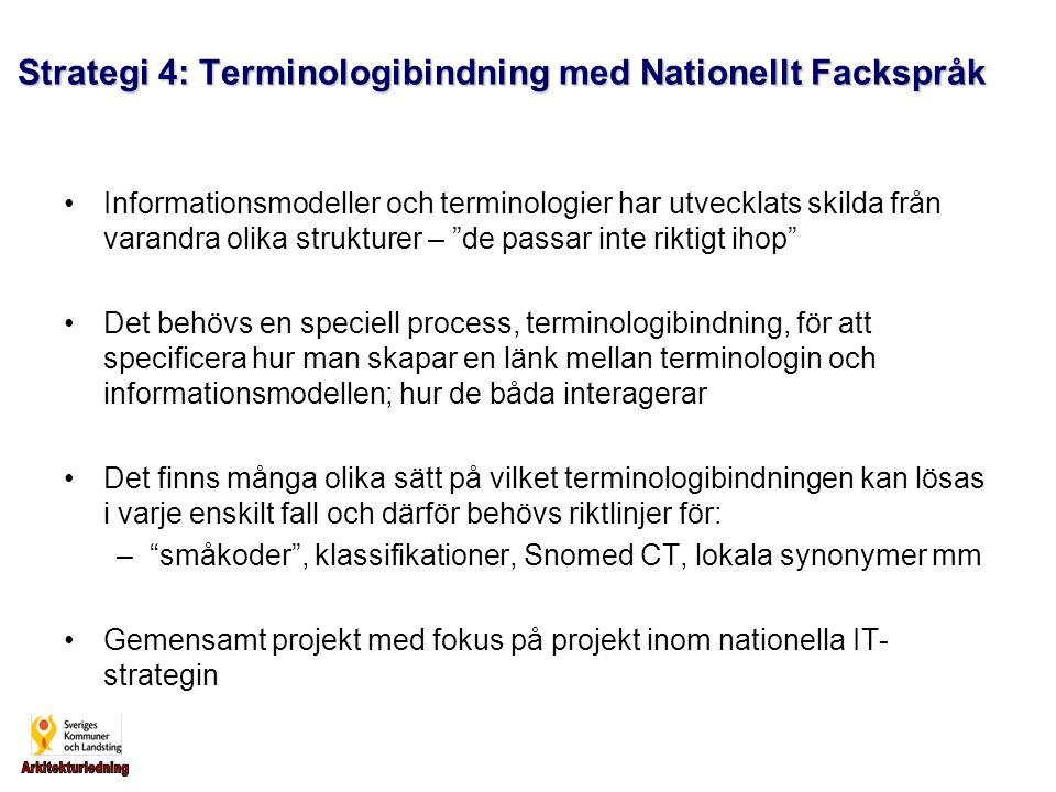 Strategi 4: Terminologibindning med Nationellt Fackspråk