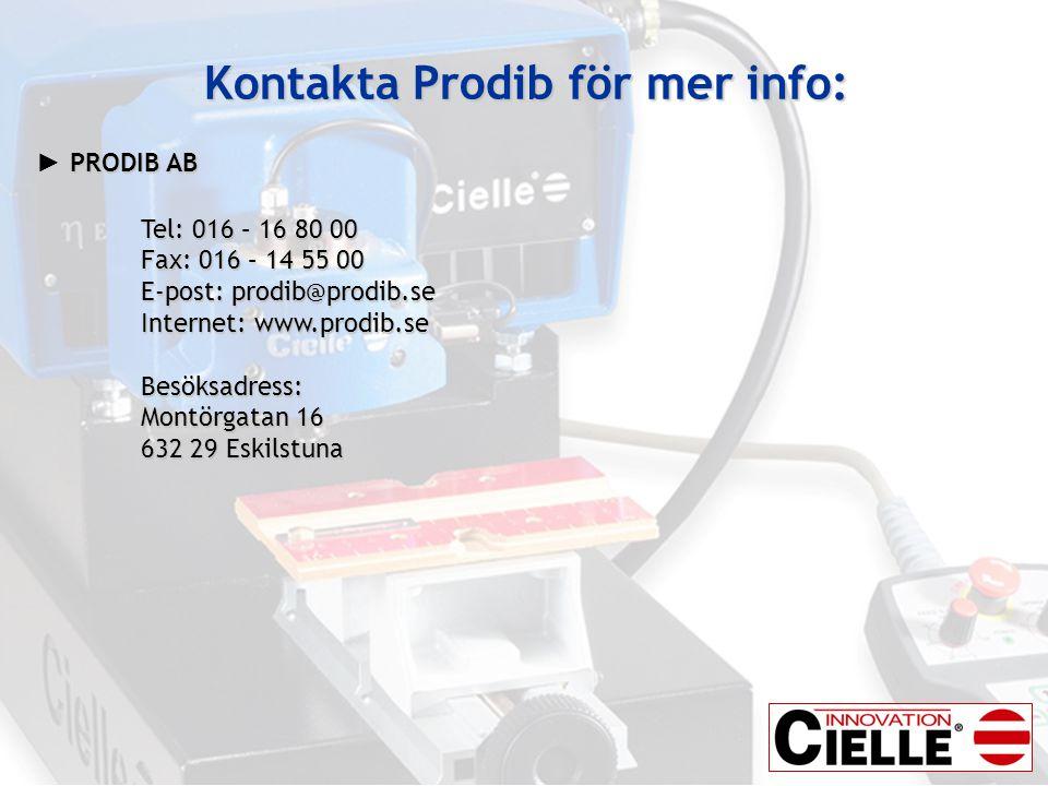 Kontakta Prodib för mer info: