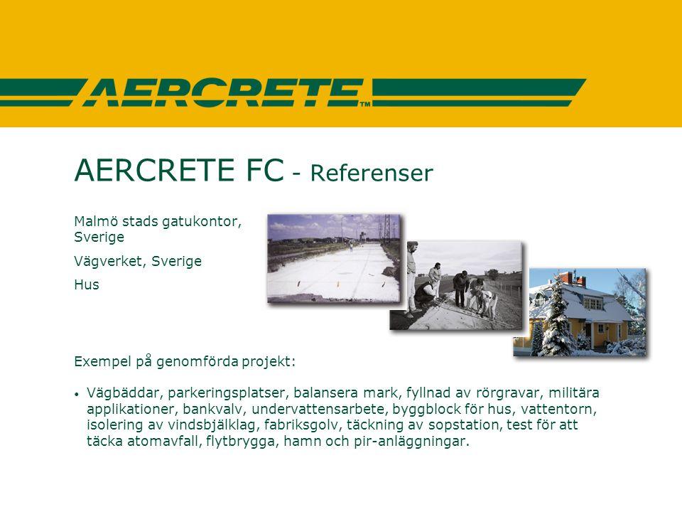 AERCRETE FC - Referenser
