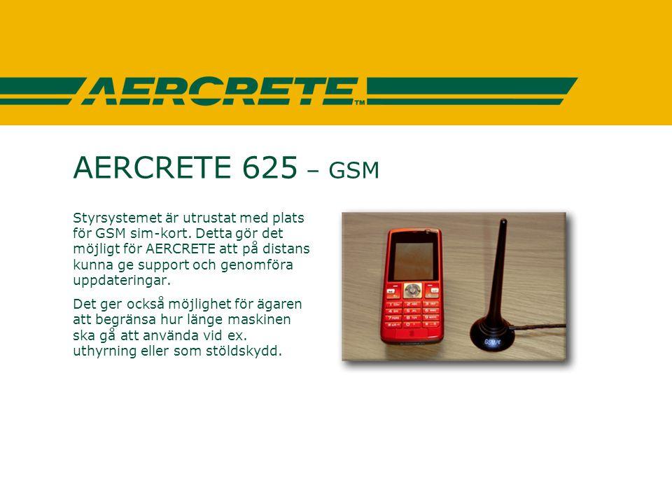 AERCRETE 625 – GSM