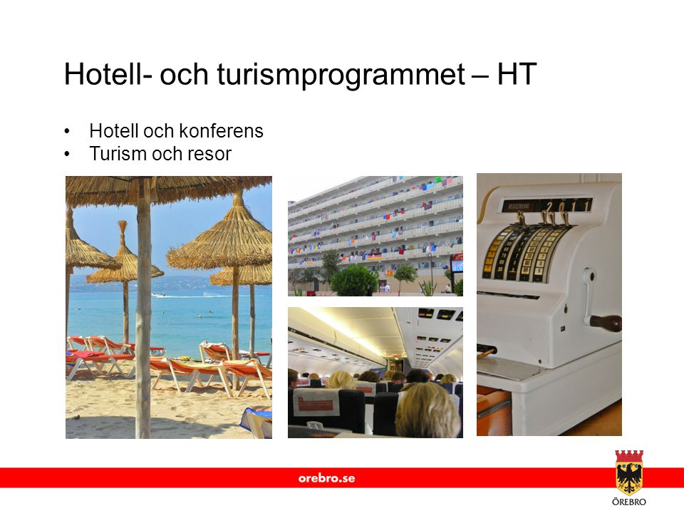 Hotell- och turismprogrammet – HT