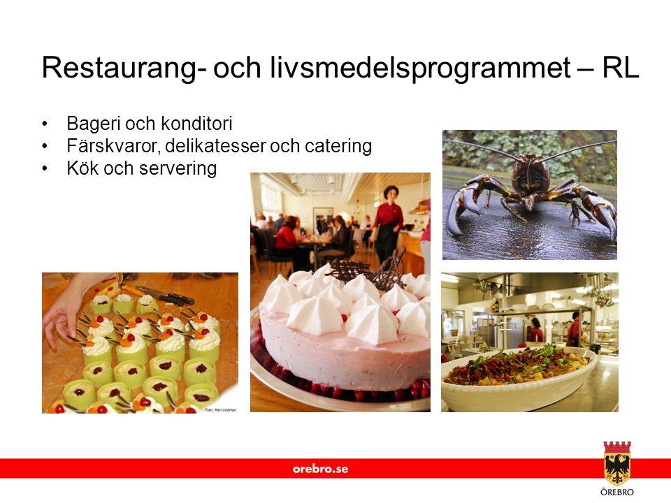 Restaurang- och livsmedelsprogrammet – RL