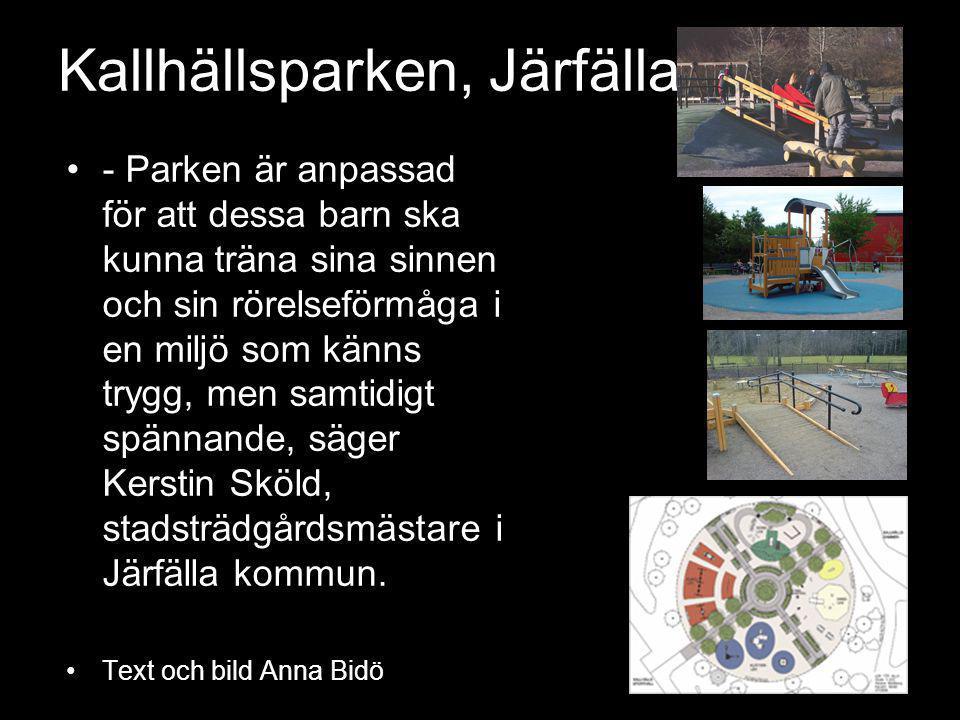 Kallhällsparken, Järfälla