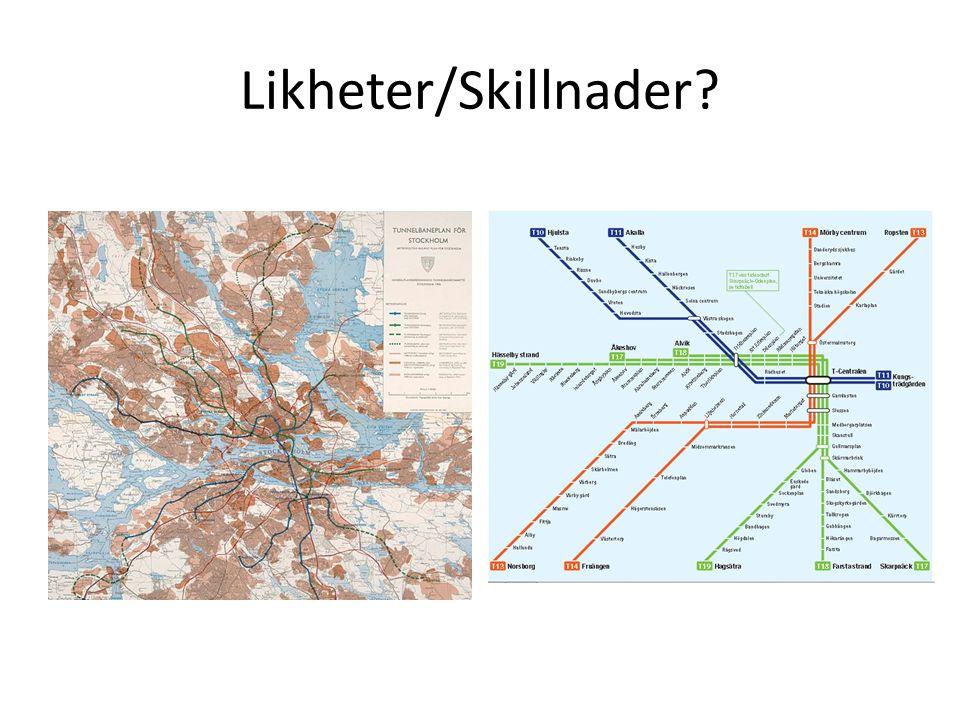 Likheter/Skillnader