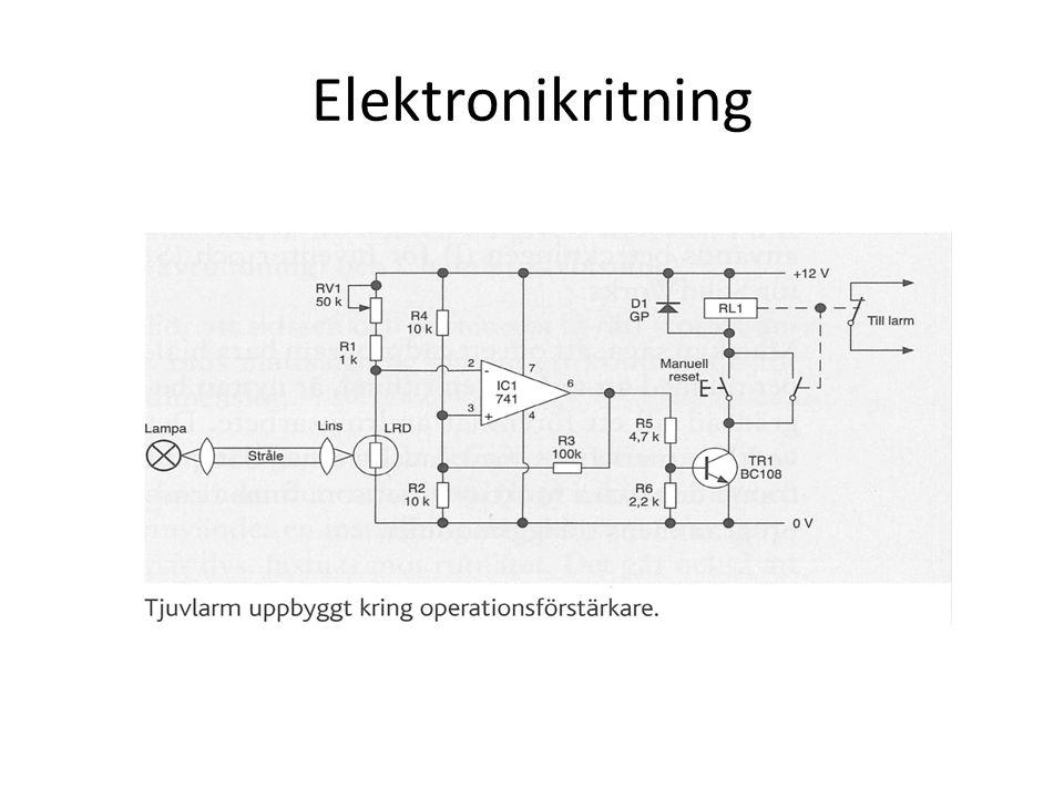 Elektronikritning