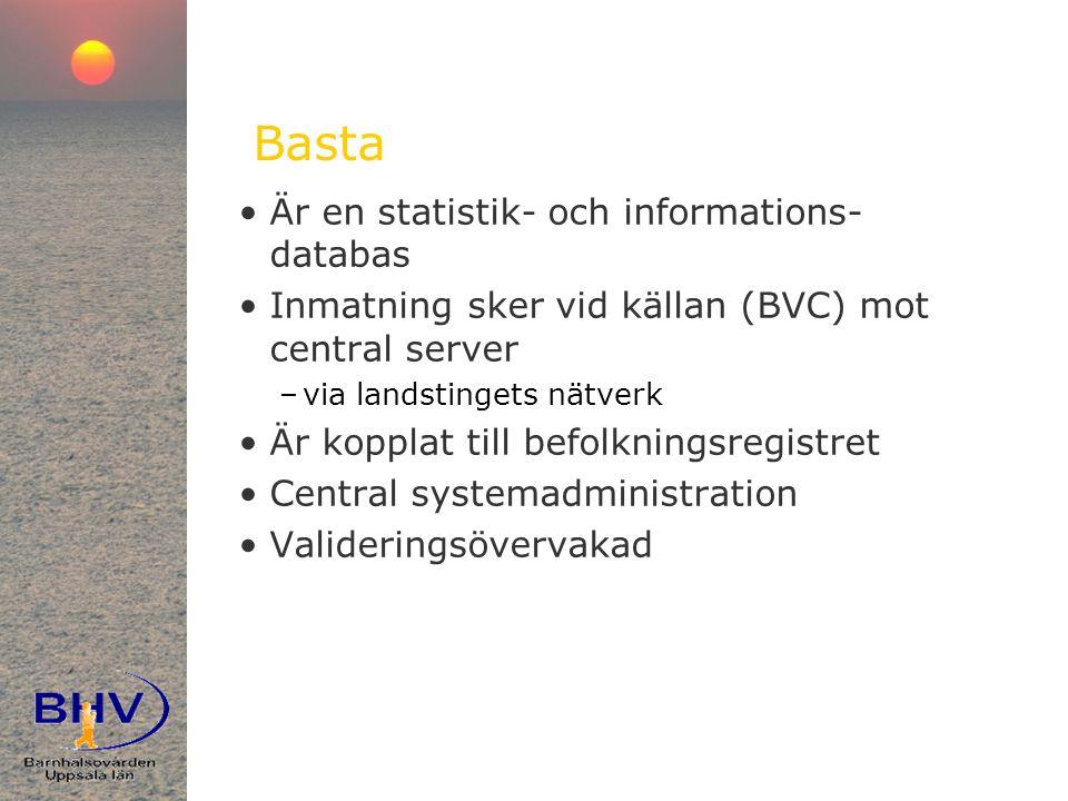 Basta Är en statistik- och informations-databas