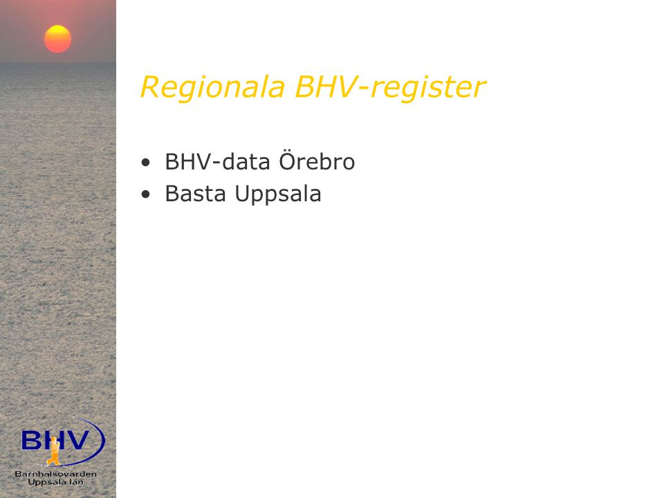 Regionala BHV-register