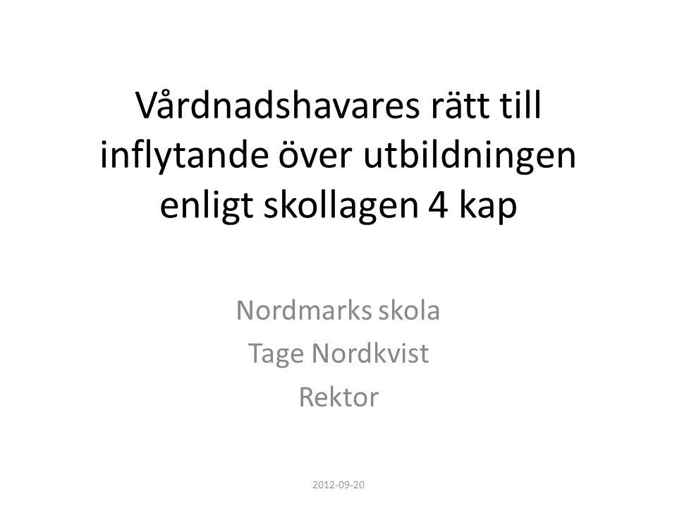 Nordmarks skola Tage Nordkvist Rektor ppt ladda ner