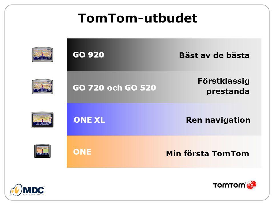 TomTom-utbudet GO 920 Bäst av de bästa Förstklassig prestanda