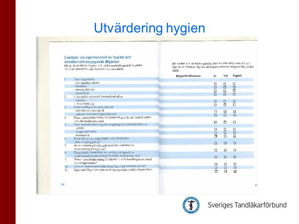Utvärdering hygien