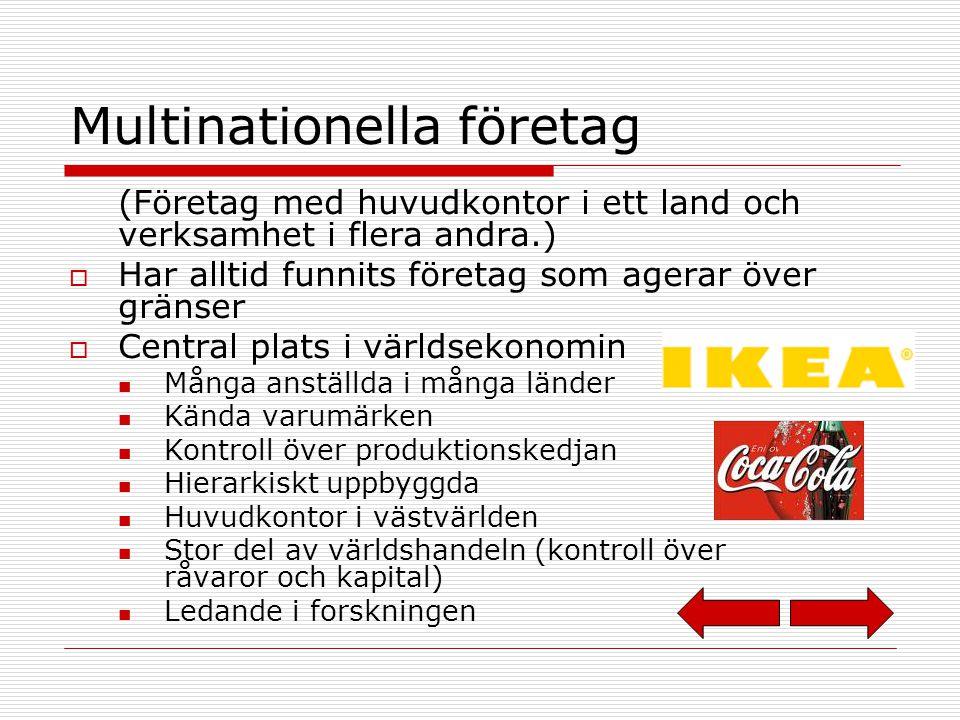 Multinationella företag