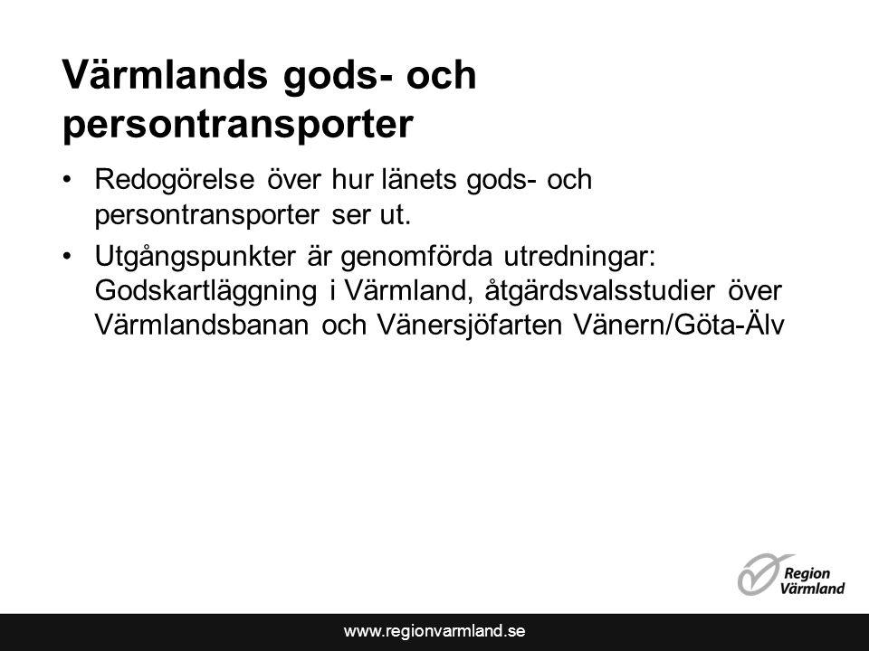 Värmlands gods- och persontransporter