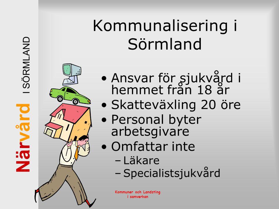 Kommunalisering i Sörmland