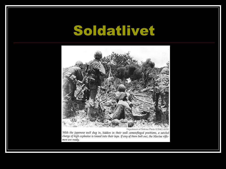 Soldatlivet