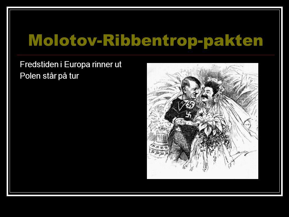Molotov-Ribbentrop-pakten