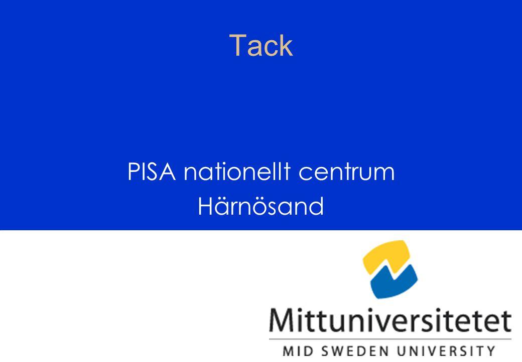PISA nationellt centrum