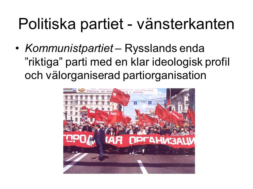 Politiska partiet - vänsterkanten