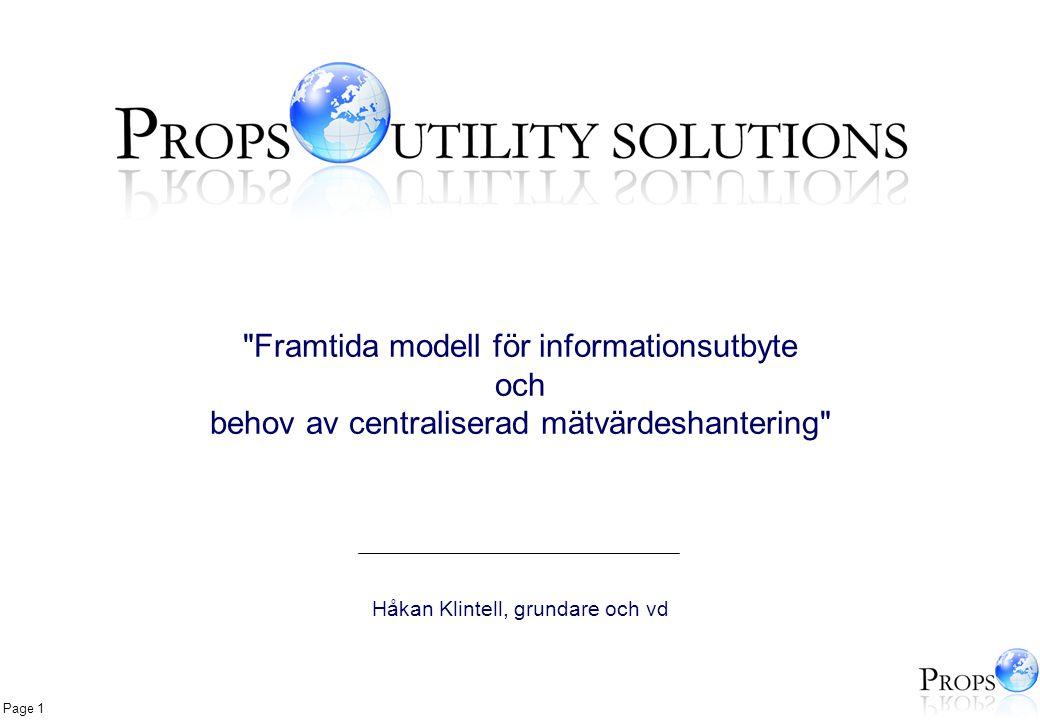 Framtida modell för informationsutbyte och