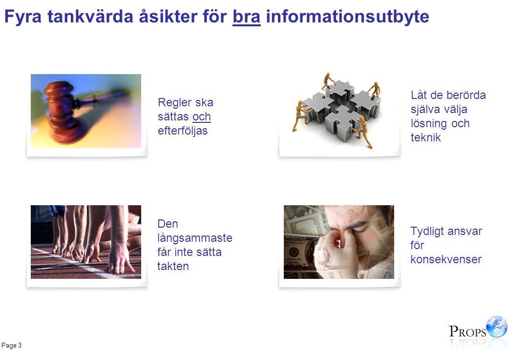 Fyra tankvärda åsikter för bra informationsutbyte