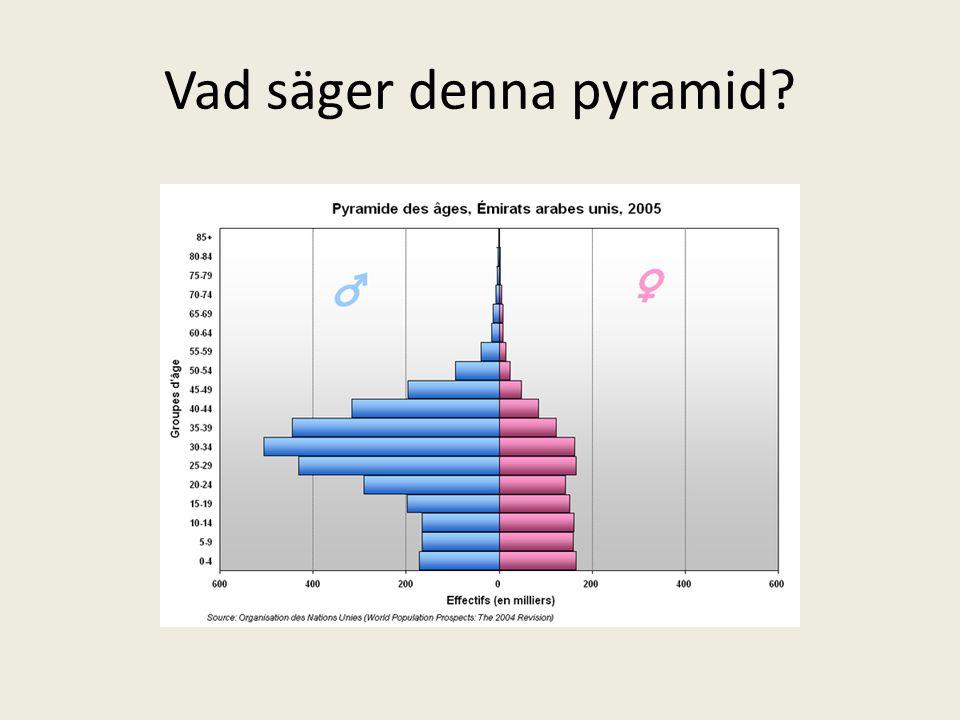 Vad säger denna pyramid