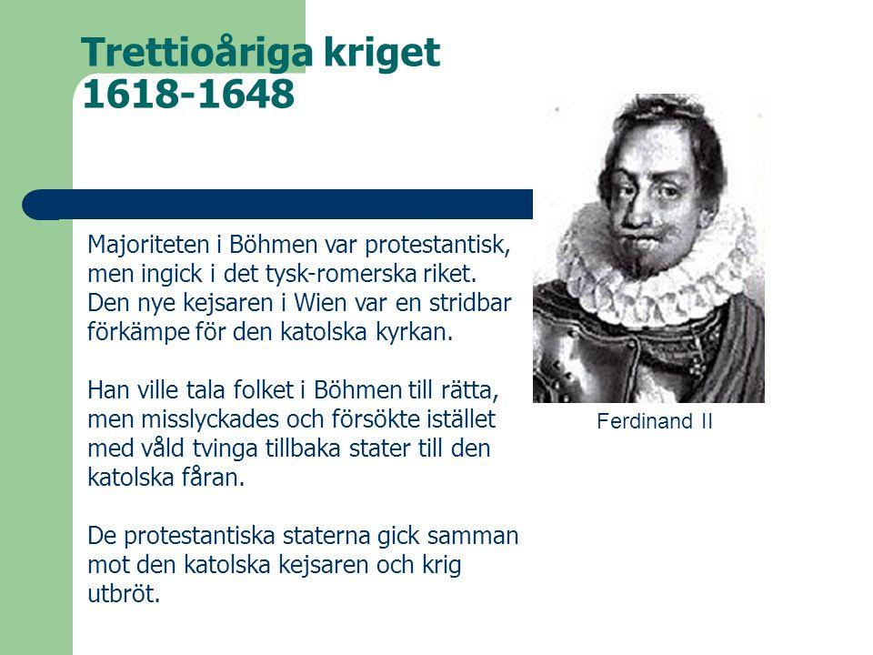 Trettioåriga kriget 1618-1648