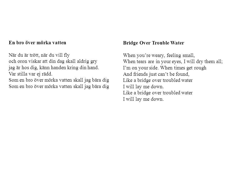 En bro över mörka vatten