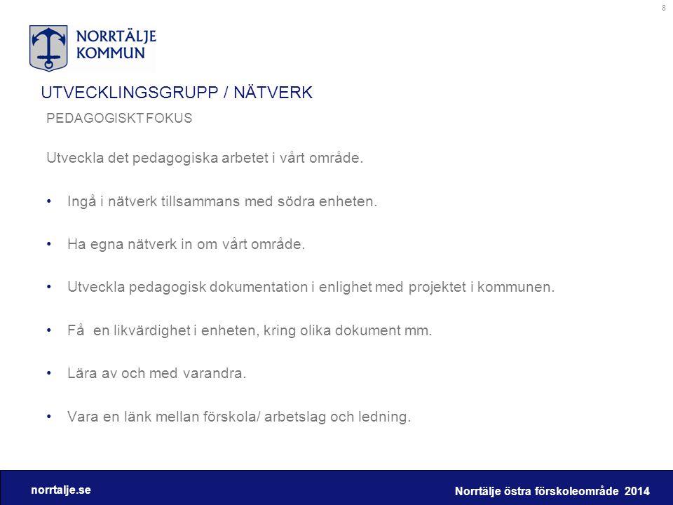 UTVECKLINGSGRUPP / NÄTVERK