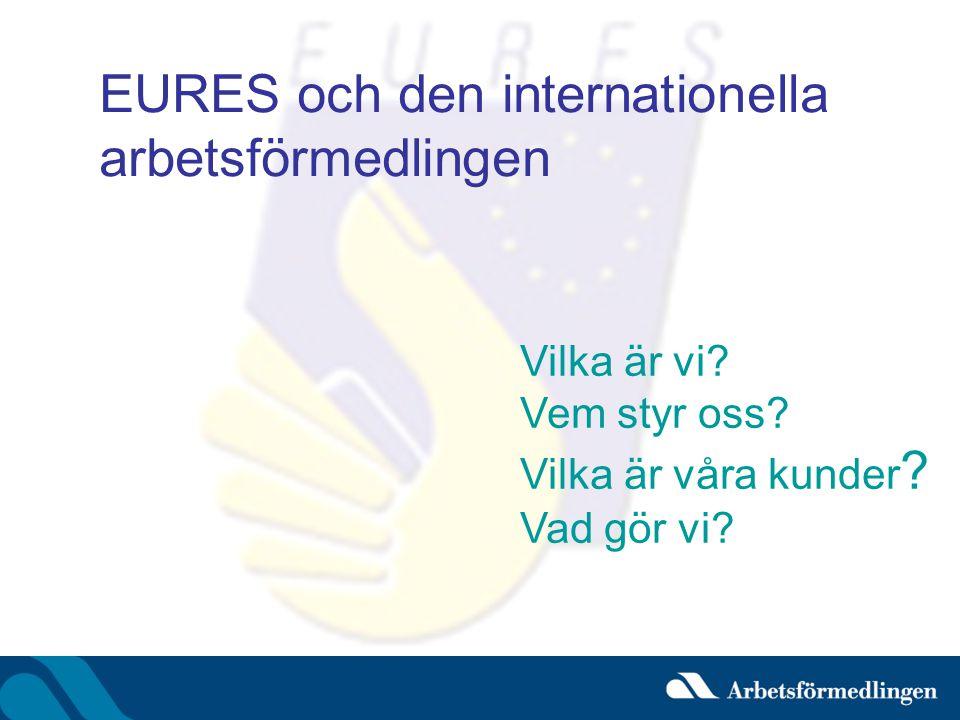 EURES och den internationella arbetsförmedlingen