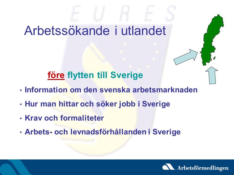 Arbetssökande i utlandet