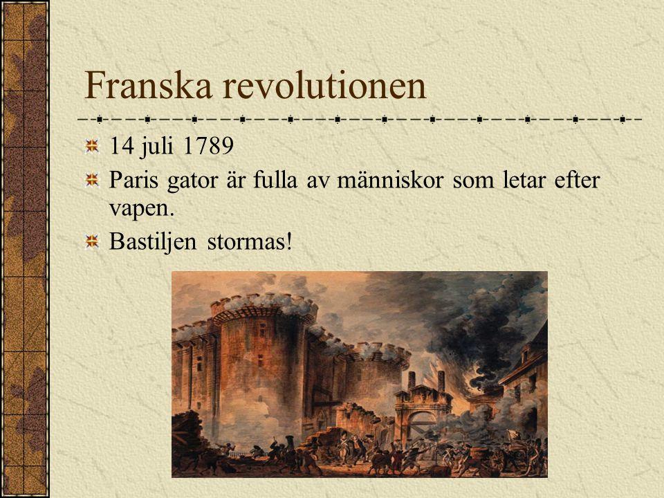 Franska revolutionen 14 juli 1789