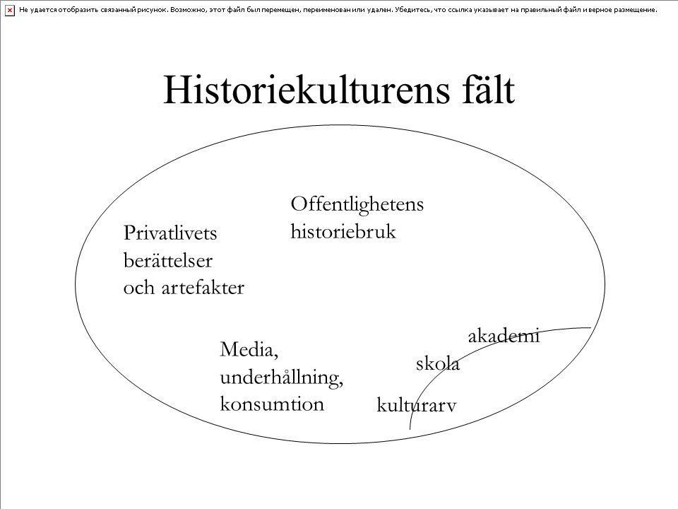Historiekulturens fält