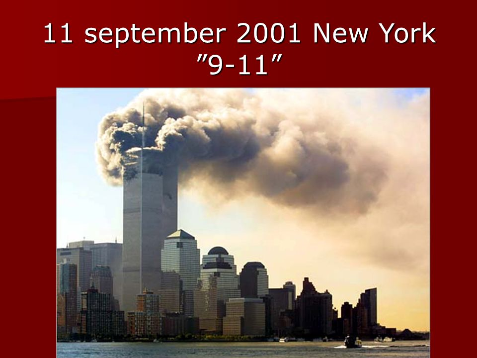 11 september 2001 New York 9-11
