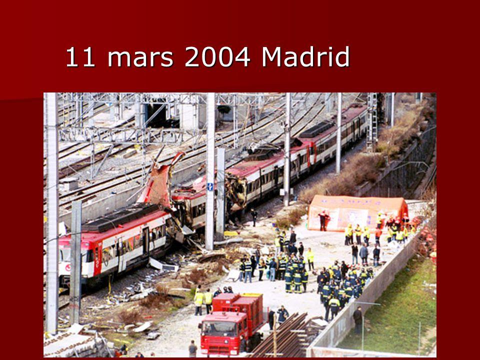 11 mars 2004 Madrid