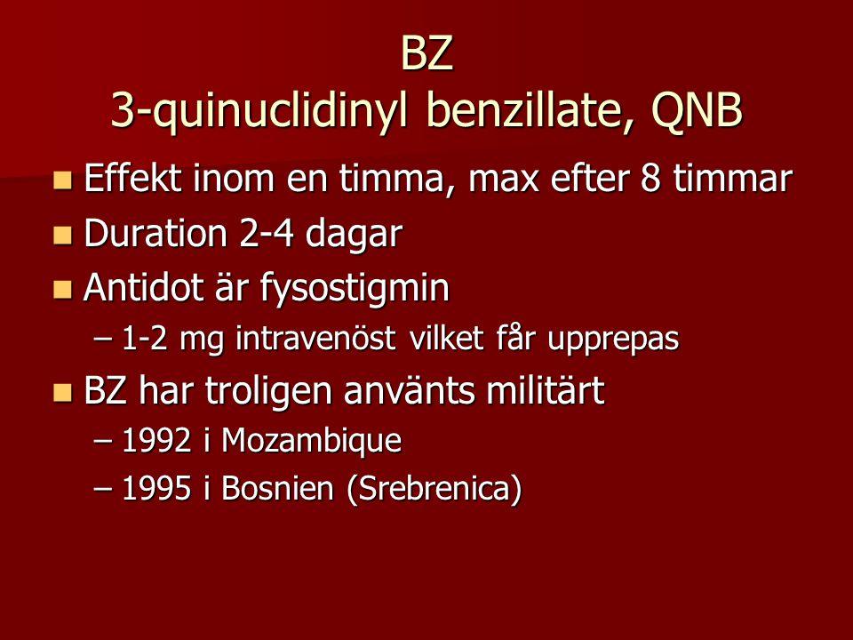 BZ 3-quinuclidinyl benzillate, QNB