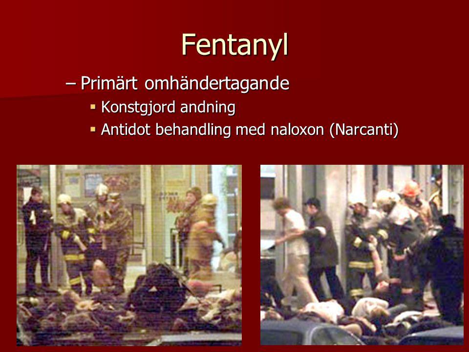 Fentanyl Primärt omhändertagande Konstgjord andning