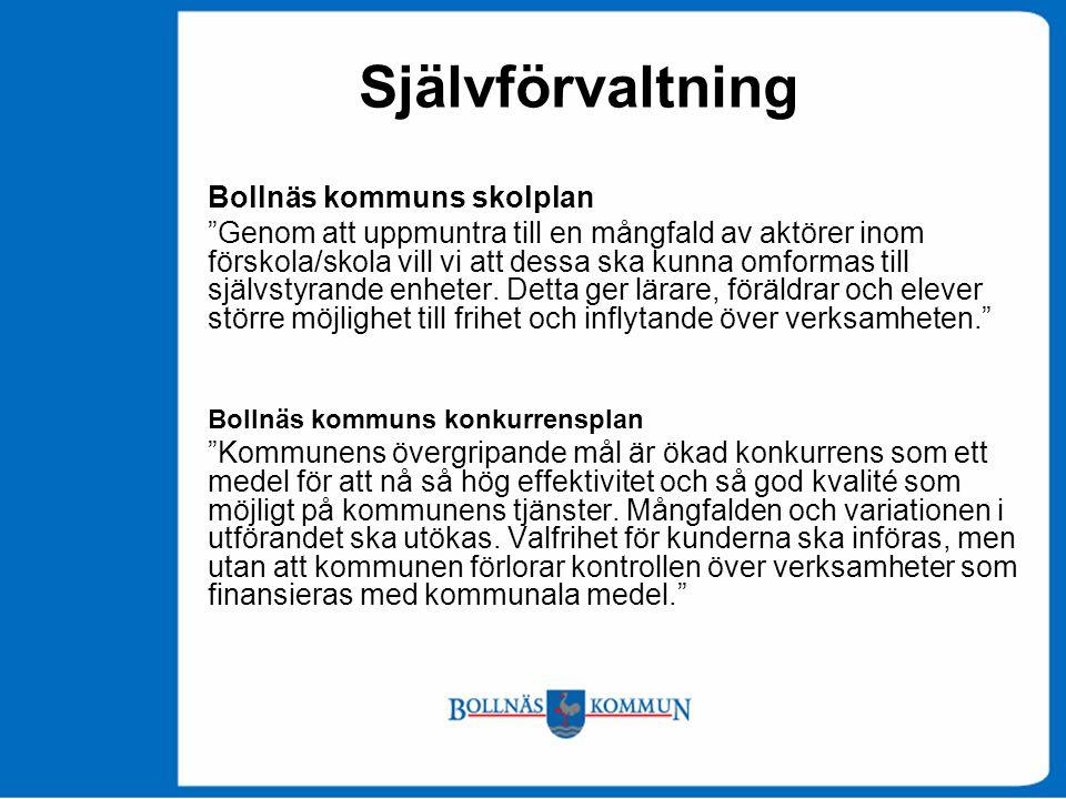 Självförvaltning Bollnäs kommuns skolplan