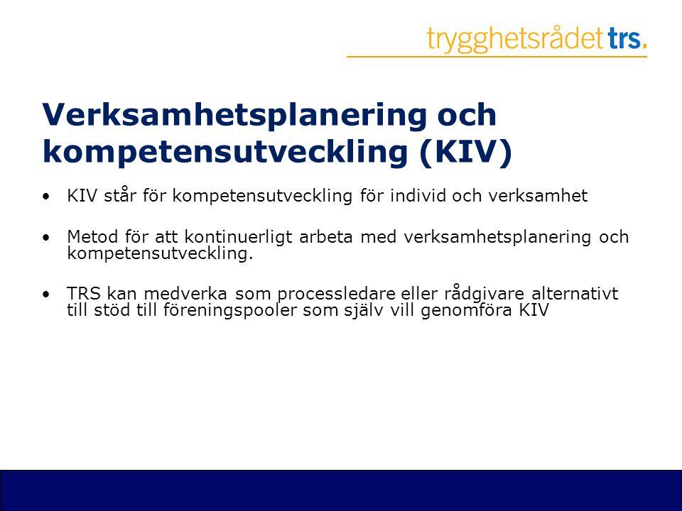 Verksamhetsplanering och kompetensutveckling (KIV)