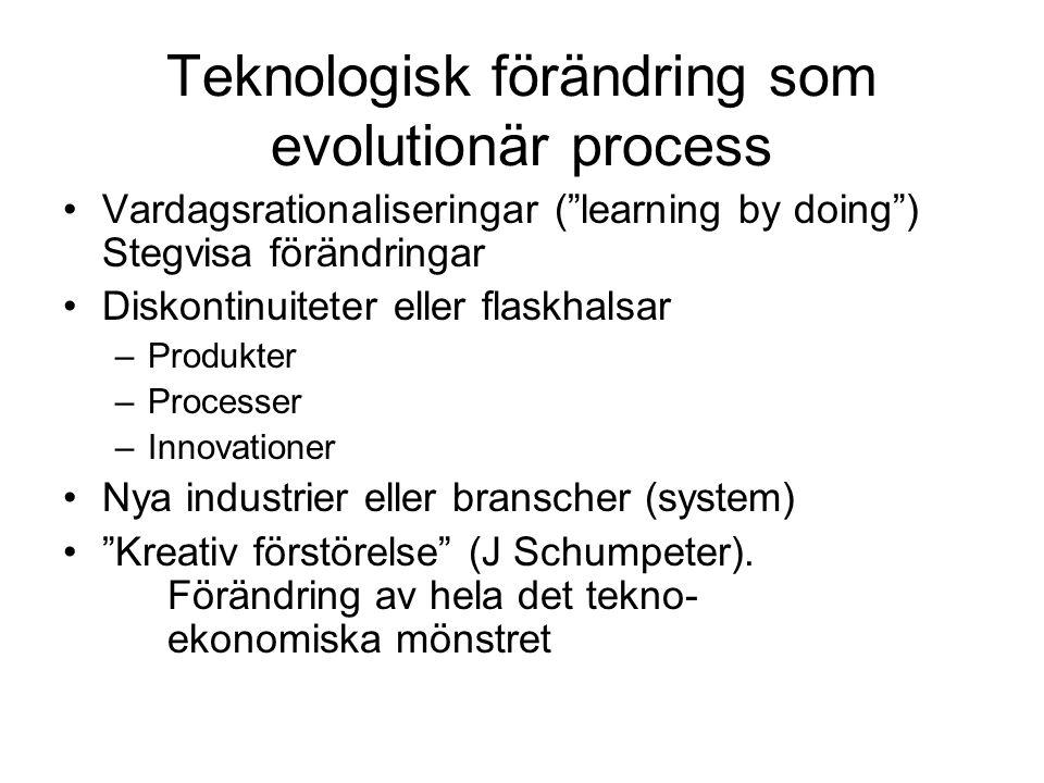 Teknologisk förändring som evolutionär process