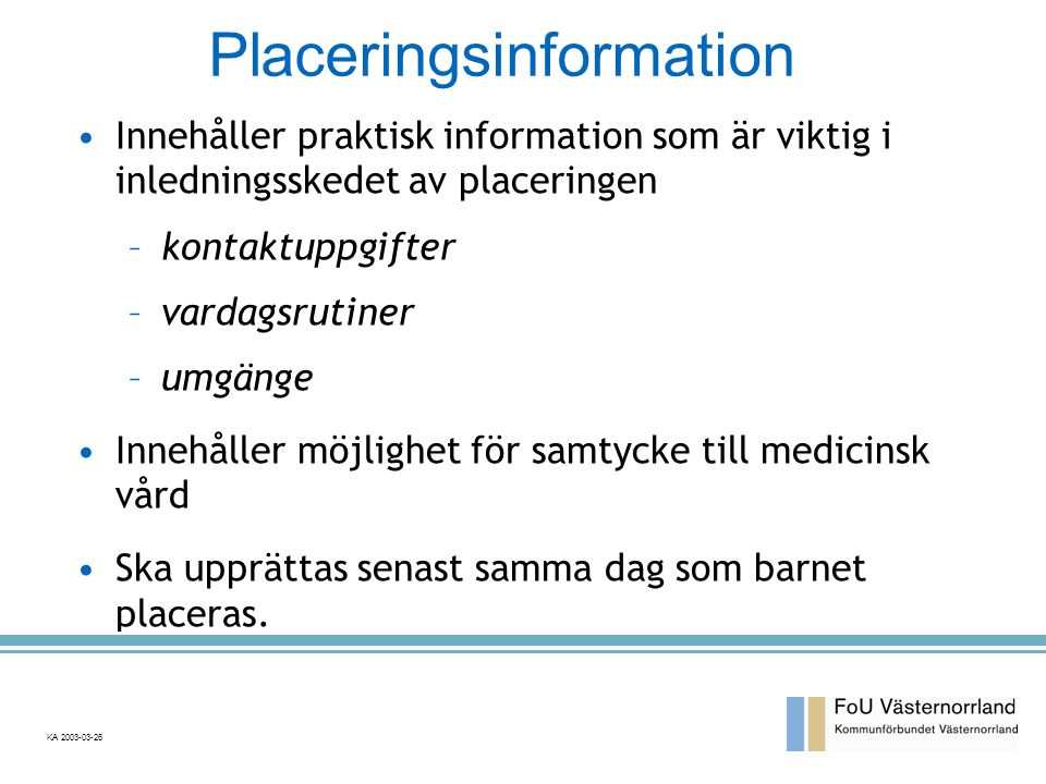 Placeringsinformation