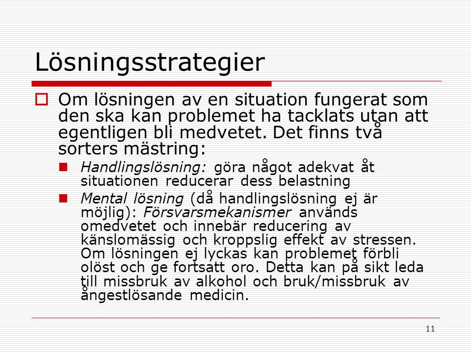 Lösningsstrategier