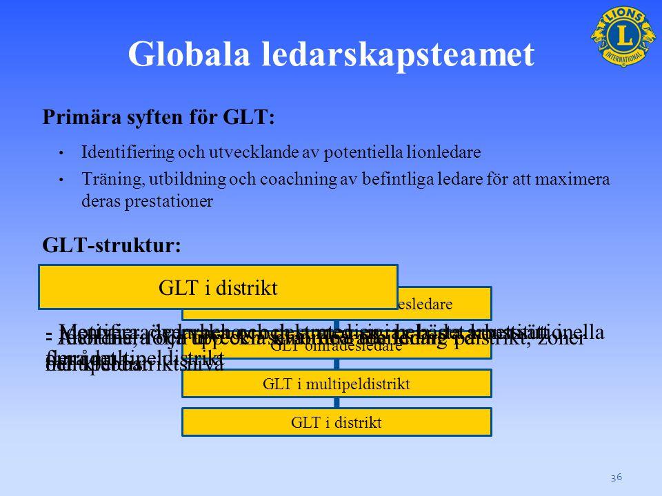Samarbeta: GMT och GLT