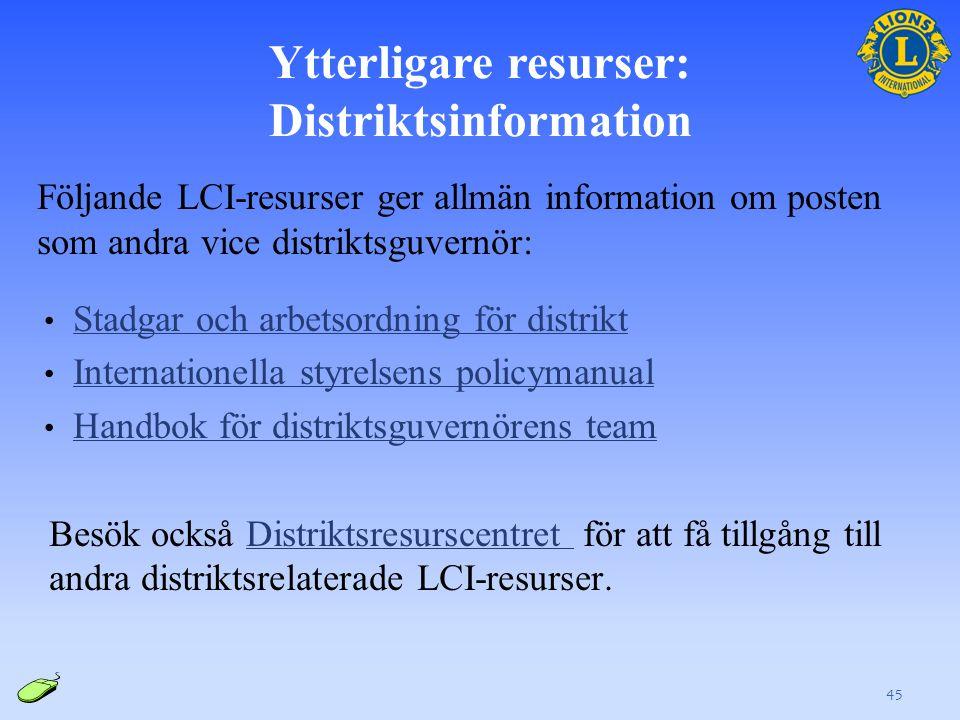 Ytterligare resurser: LCIF