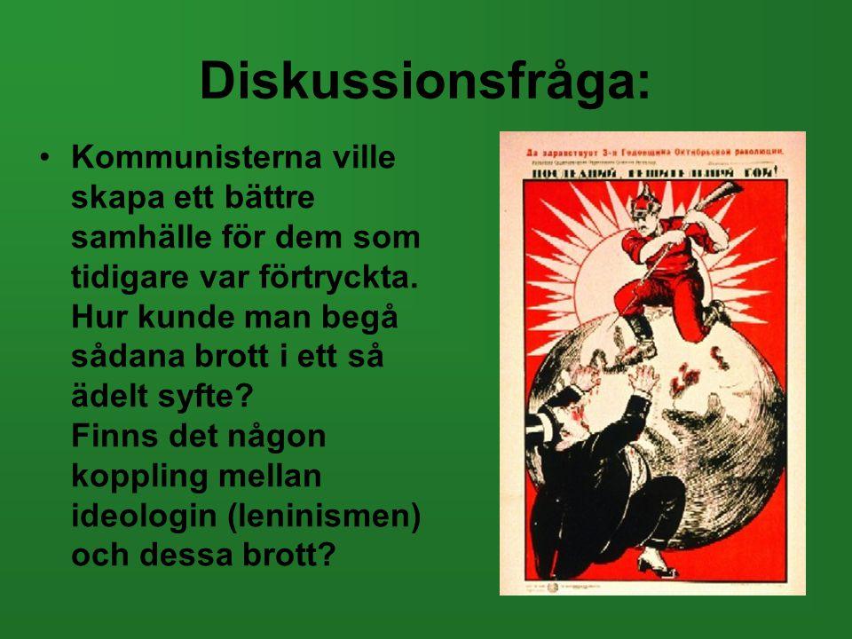 Diskussionsfråga: