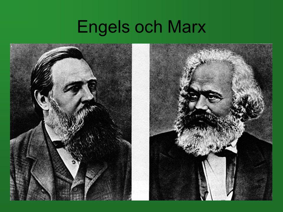 Engels och Marx